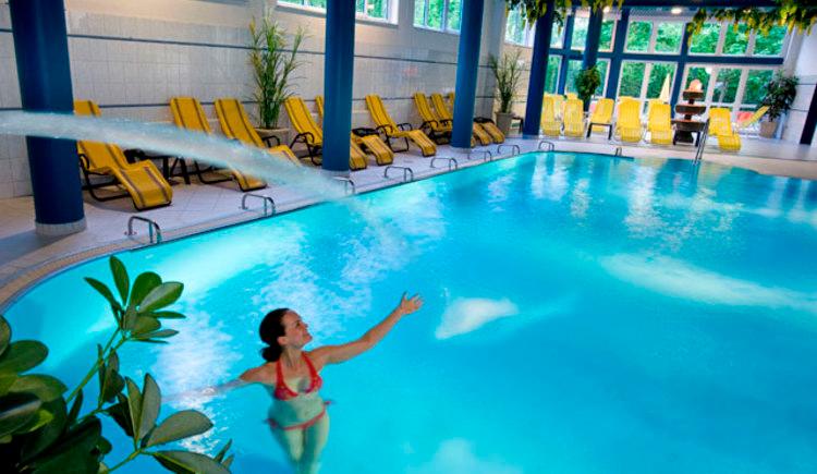 Pool im Parkhotel zur Klause