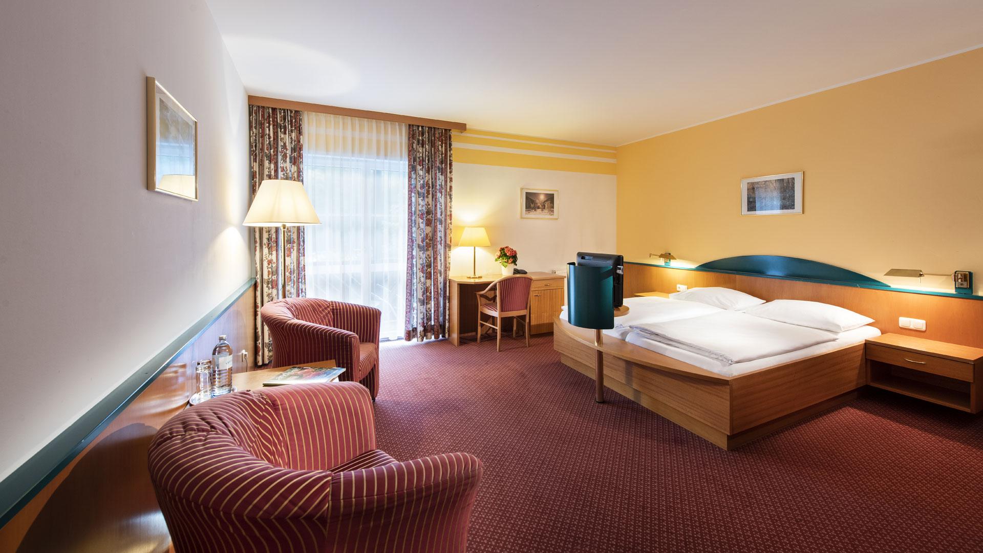Doppelzimmer Economy im Parkhotel zur Klause, Bad Hall