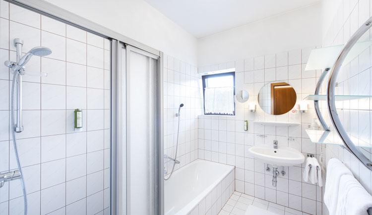 Doppelzimmer Business Bad, Parkhotel zur Klause