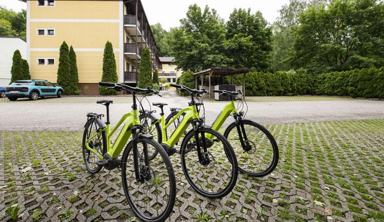 E-Bikes im Parkhotel zur Klause in Bad Hall