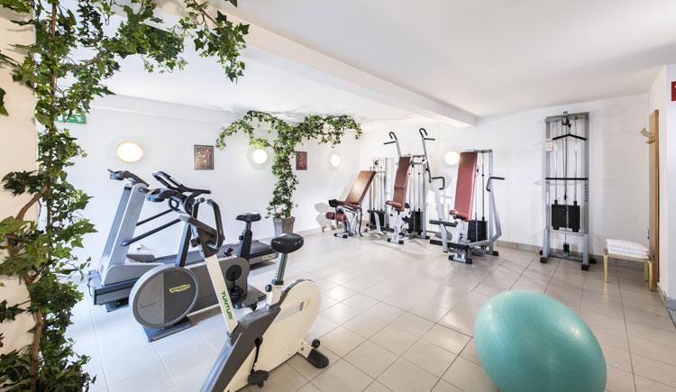 Fitnessbereich im Parkhotel zur Klause in Bad Hall