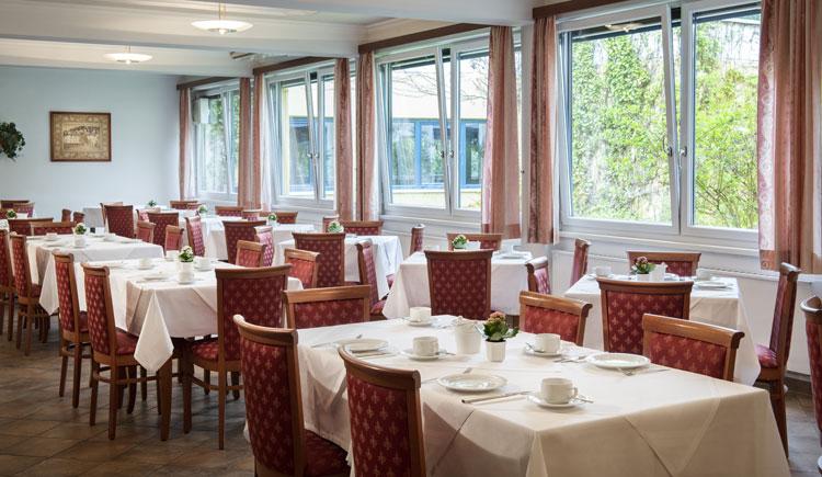 Frühstücksraum im Parkhotel zur Klause in Bad Hall