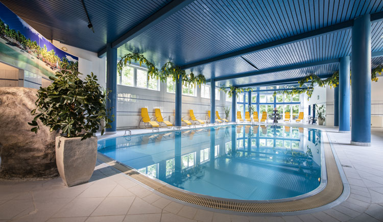 Pool im Parkhotel zur Klause in Bad Hall